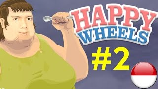 Korban Billy - Happy Wheels #2 - Indonesia Pc Gameplay