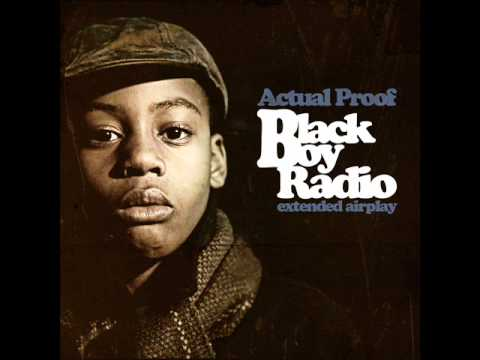 Actual Proof - Sojourner Truth (prod. by 9th Wonder) (Black Boy Radio Extended Airplay)