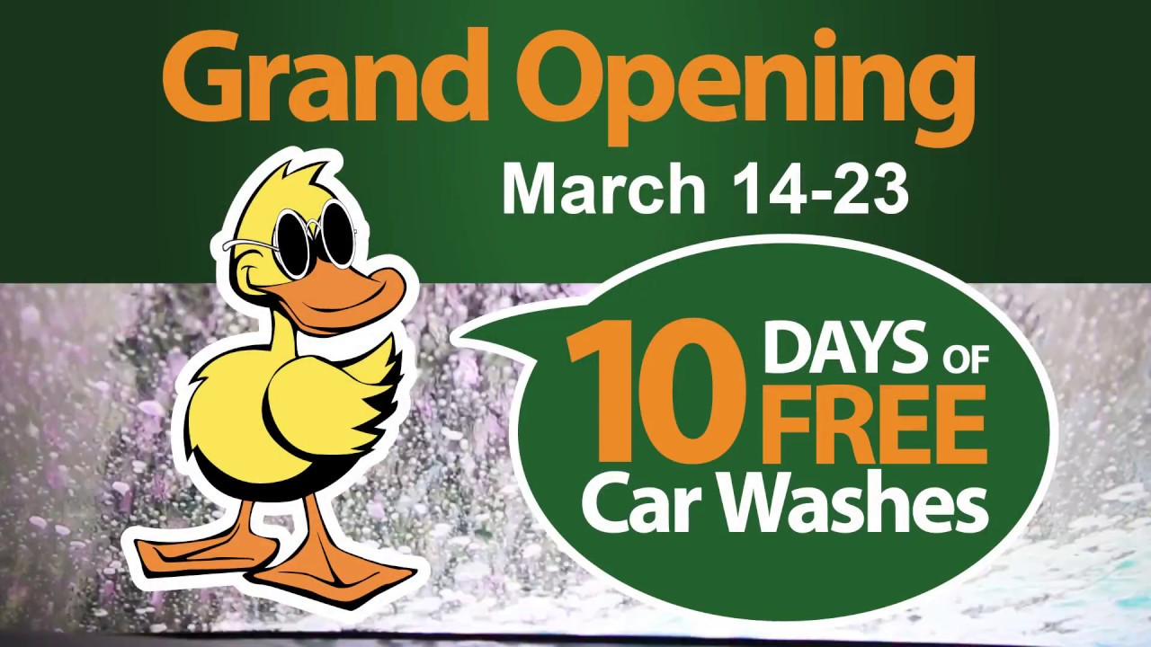 10 days of free car washes quick quack car wash mesa az grand 10 days of free car washes quick quack car wash mesa az grand opening solutioingenieria Choice Image
