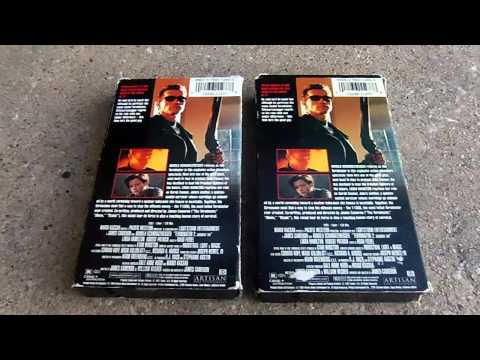 Two Different Verison Of Terminator 2 Judgement Day VHS Review