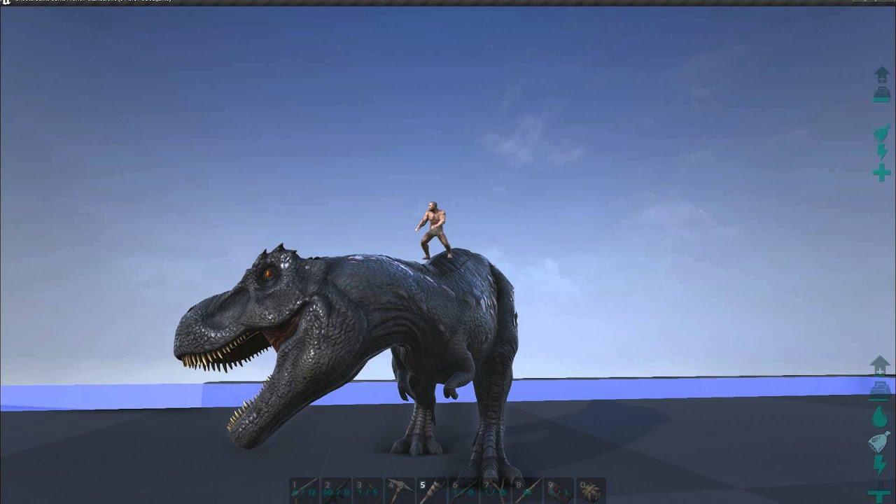 Jurassic Park T Rex Roar Ark Survival Evolved- ...