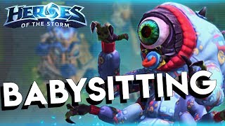Heroes of the Storm (HotS) | LENDING MY BRAIN | Abathur Gameplay ft. Sinvicta