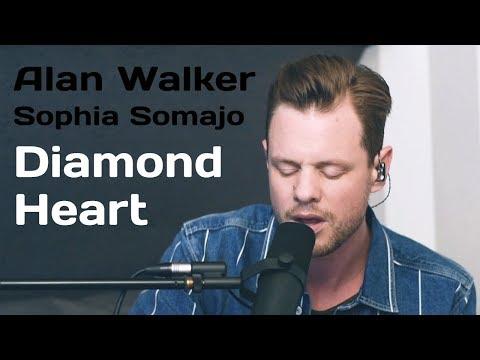 Diamond Heart - Alan Walker ft  Sophia Somajo (Cover by VONCKEN)