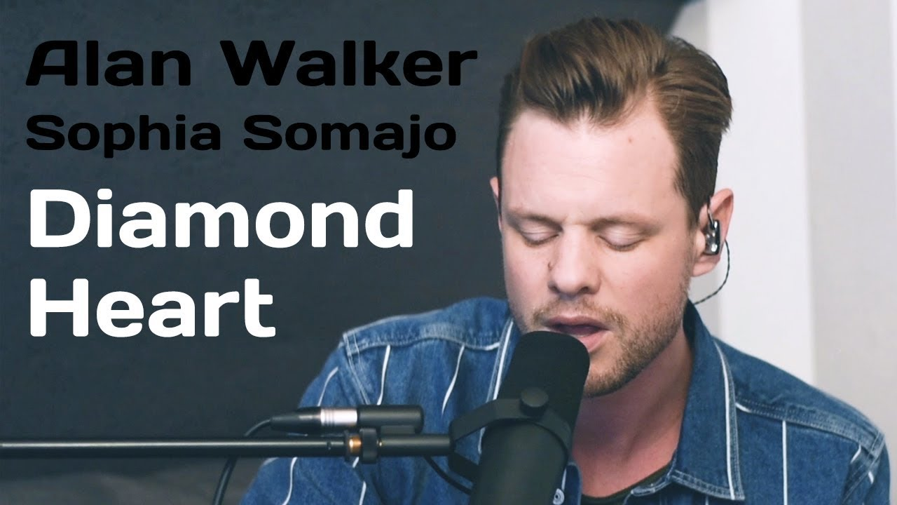 Download Diamond Heart - Alan Walker ft  Sophia Somajo (Cover by VONCKEN)