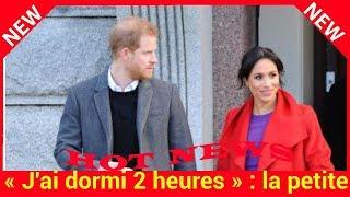 « J'ai dormi 2 heures » : la petite confidence du prince Harry hors caméra