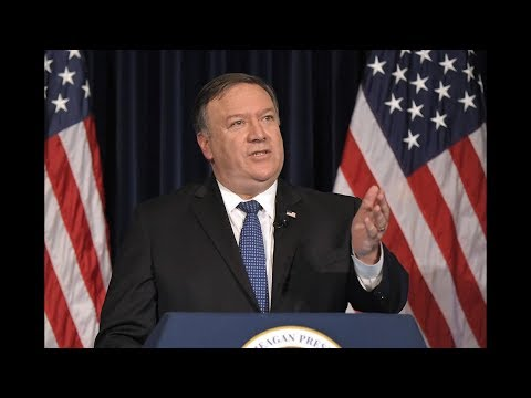 Mike Pompeo hearing live stream on the Trump-Putin meeting and North Korea Summit