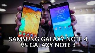 Samsung Galaxy Note 4 vs Galaxy Note 3 - Quick Look