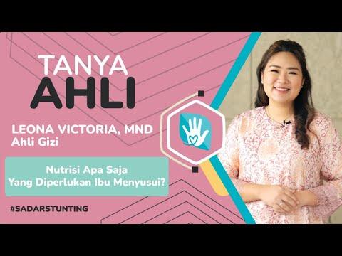 Tanya Ahli Genbest - Leona Victoria, MND: Nutrisi Yang Diperlukan Ibu Menyusui