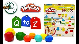 Learn letter with Play doh Letter & Language Q to Z