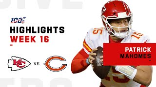 Patrick Mahomes Highlights vs. Bears | NFL 2019