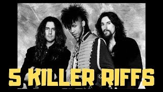 5 Killer Riffs - King's X