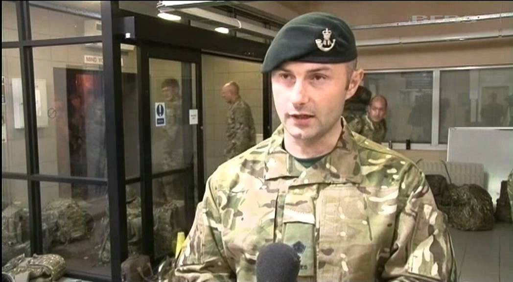 2 Rifles Start Deploying To Afghanistan 150911