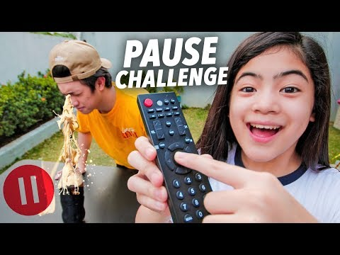 PAUSE CHALLENGE (Brother Vs Sister) | Ranz and Niana