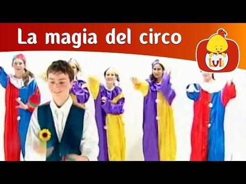 La magia del circo- Niños malabaristas, Luli TV