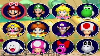 Mario Party 7 - All Characters