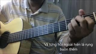 GIOT LE SAU (Lam Phuong) [Guitar solo] [K'K]