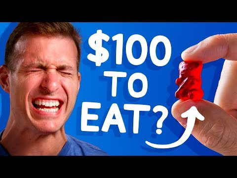 We Offered $100 to Eat this Gummy Bear (most wouldn't!) • White Elephant Show #5