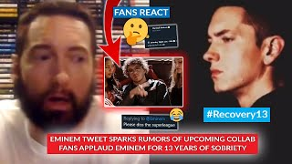 Eminem Sparks Speculations After Quoting SNL Parody w/ Jack Harlow, Fans Applaud Eminem #Recovery13