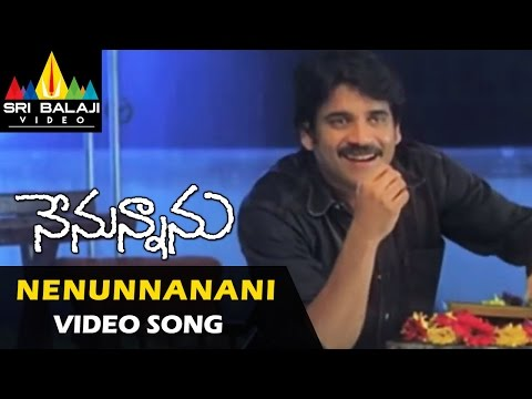 Nenunnanu Video Songs | Nenunnanani Video Song | Nagarjuna, Aarti, Shriya | Sri Balaji Video