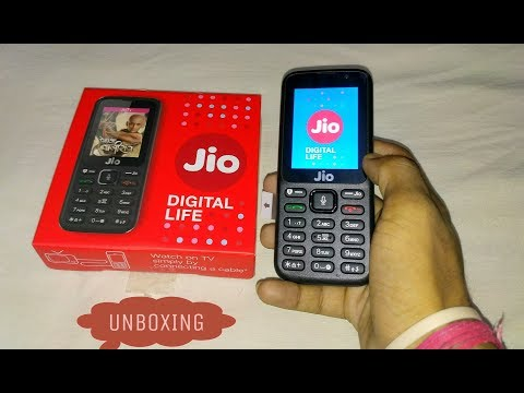 Jio Phone Unboxing || Digital Life || India ka Smartphone Overview