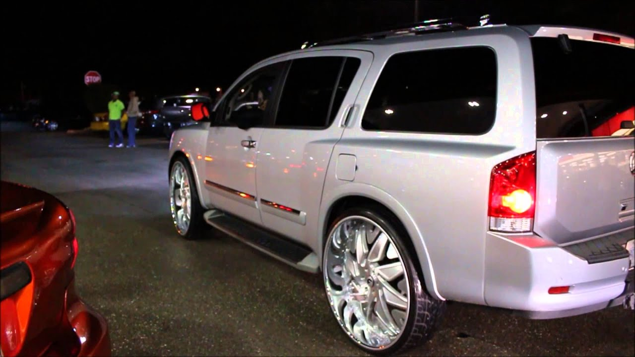 Nissan Armada On 30 Forgiato Wheels Youtube