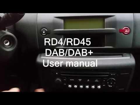 RD4/RD45 DAB/DAB+ User Manual