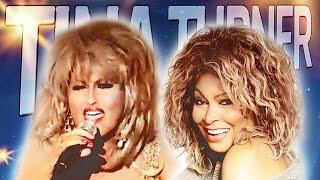 Katarzyna Skrzynecka jako Tina Turner połączone z występem Tiny   szopall