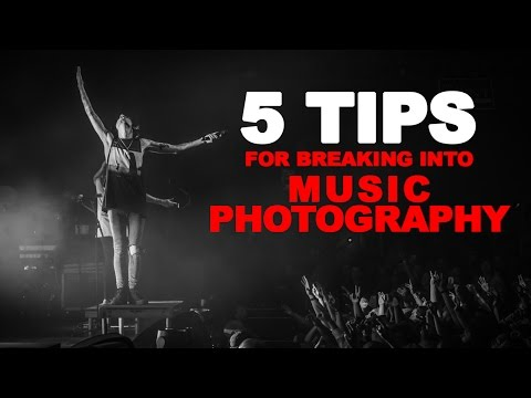 5 Tips for Breaking Into Music Photography