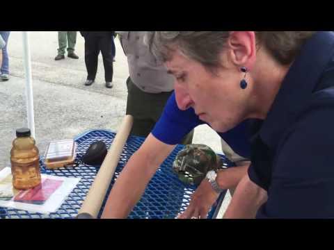 Jean Lafitte program manager Dusty Pate explains the restoration project