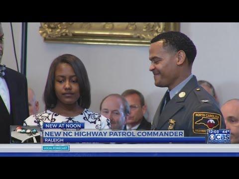 New North Carolina State Highway Patrol commander sworn in Friday
