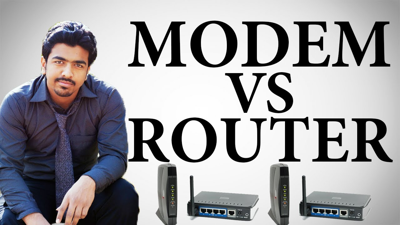 Modem Vs Router   Difference between Modem & Router ...