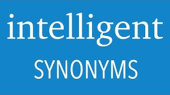 9 Other Ways To Say INTELLIGENT | Increase Your English Vocabulary | English Intelligent Synonyms
