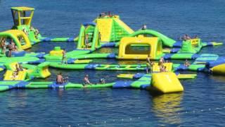 Funny Giant Water Playground Fun Croatia Golden Corner Beach