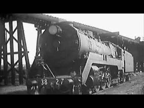 Australian Express Steam Train 1960s Educational Documentary