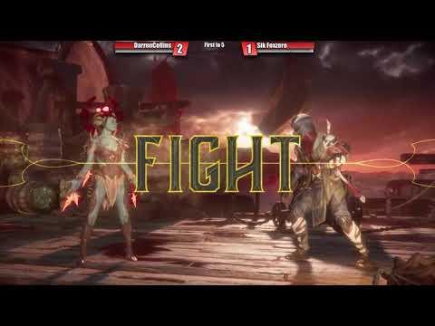 MK11: FT5 FoxZer0 (Erron Black, Sonya Blade, Nightwolf) Vs Darreon Collins (Cetrion, Scorpion)