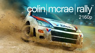 Colin McRae Rally Remastered PC Gameplay 4K 2160p