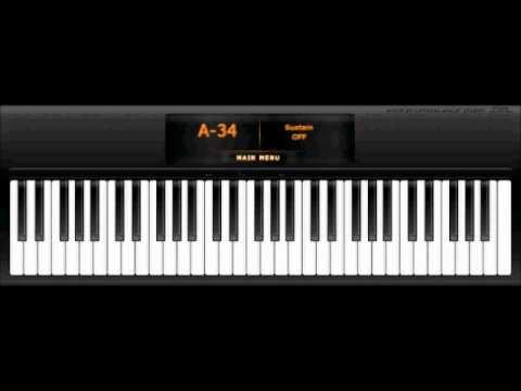 Virtual Piano - Grief and Sorrow - Naruto Hokage Theme