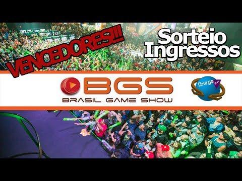 VENCEDORES!!! Final Sorteio Ingressos para a BGS (2018)!!! Nos vemos lá - Omega Play