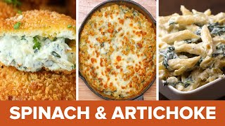 Spinach And Artichoke 4 Ways