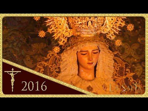 Ntra. Señora de Gracia y Esperanza -  Entrada - Hdad. de San Roque (Semana Santa 2016 - Sevilla)