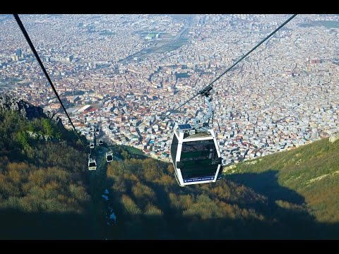 LEITNER ropeways in Turkey- GD8 Bursa