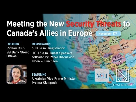 Meeting the new security threats to Canada's allies in Europe
