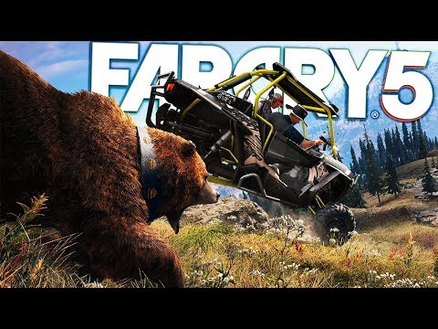 Far Cry 5 - Operation Road Kill - Exploring The Far Cry Wildlife - Far Cry 5 Gameplay Highlights