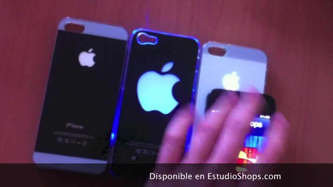 carcasa iphone luz