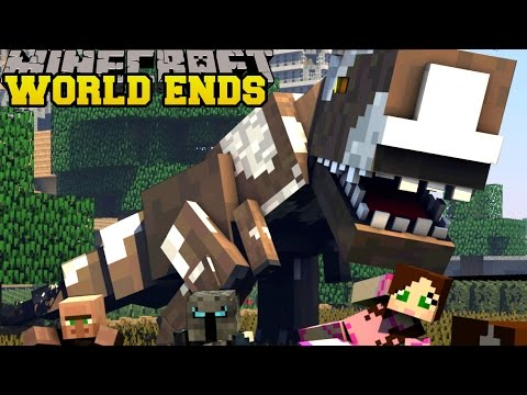 Minecraft: THE WORLD IS ENDING!??! - TERRA SWOOP FORCE - Custom Map [2]