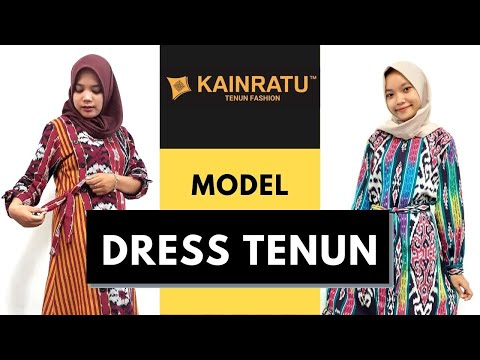 Model Dress Tenun Terbaru | Online Ikat Materials Wholesale from YouTube · Duration:  1 minutes 5 seconds