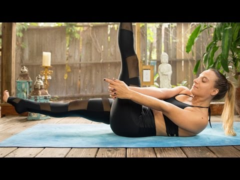 Work Your Core + Restore Your Body - 50 Minute Yoga Flow