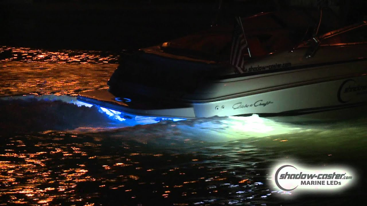 shadow-caster marine leds - intense underwater lighting - youtube, Reel Combo