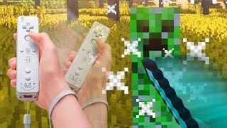 How to Control Minecraft with a Wii Remote!