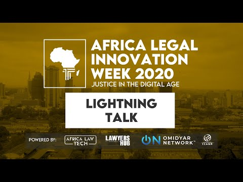 Africa Legal Innovation Week 2020: The Impact of AI on Law i